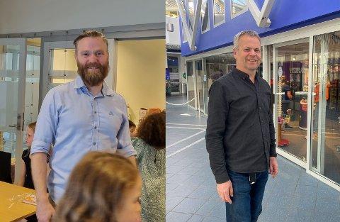 Stig Blindheim- Hansen og Tor Uglum ser lyst på haustsesongen, og lovar gode kulturopplevingar.
