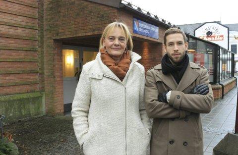Marit Meder og Kristian Hovden Heitmann vil invitere naboer til fellesboligen på Heistad på gløgg og pepperkaker etter den alvorlige hendelsen sist helg. De vil også skjerpe sikkerheten rundt boligen, et bofellesskap for unge flyktninger.
