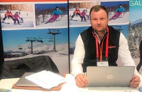 TIDENES SOMMER: Håvard Kleven, salgssjef ved Rauland skisenter, forteller at i 2018 vil de sette rekord i antall utenlandske sommerturister.