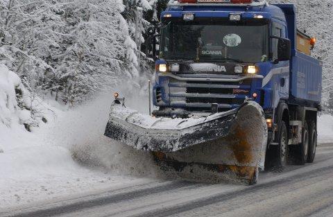 MULIGENS: I dag kan du muligens våkne til snø. Det er meldt opp til 20 mm nedbør, men det kan være store variasjoner. (Illustrasjonsfoto)