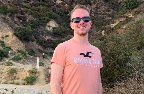 Alexander Kvammen er fra Kristiansund og bor nå i Pennsylvania i USA. Han følger presidentvalget tett.