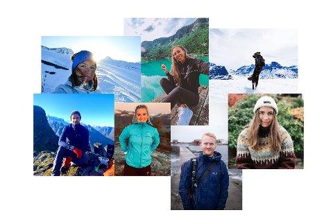 Her er Visit Nordmøres nye ambassadører, som skal vise hva regionen har å by på via Instagram.