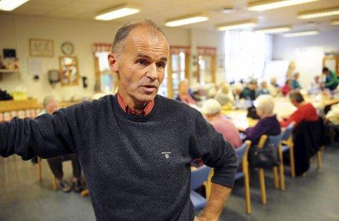 Jan Petter Bergan er fortvilet over at så få bøssebærere har meldt seg.