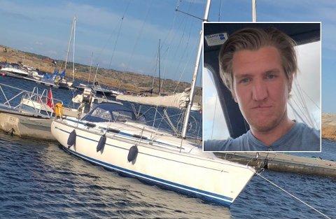 OVERRASKET: Håkon Larsson er overrasket over den gode hjelpe han fikk av båtfolket i Tønsberg lørdag formiddag.