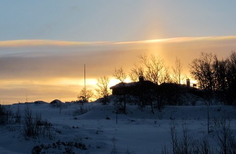 Soria Moria: Solnedgangstid byr ofte på fine, men korte stunder med spesielt lys.