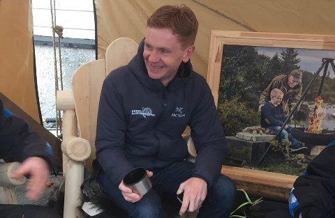 Håvard Halvorsen er strålende fornøyd etter årets utgave av rakfiskfestivalen. Han har fått masse positive tilbakemeldinger.