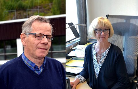 REKTORER: Jan Henrik Bakke, rektor på Sør-Aurdal ungdomsskole og Kari Elisabeth Rustad, rektor på Valdres vidaregåande skule, er blant de som tjente mest av rektorene i Valdres i 2019.