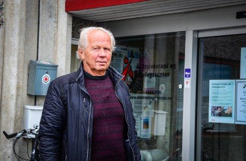 BEKYMRET: Jan Wold er bekymret for at omreguleringen av langbakken fra næringsområde til boligfelt vil tvinge bedrifter vekk fra Ås.