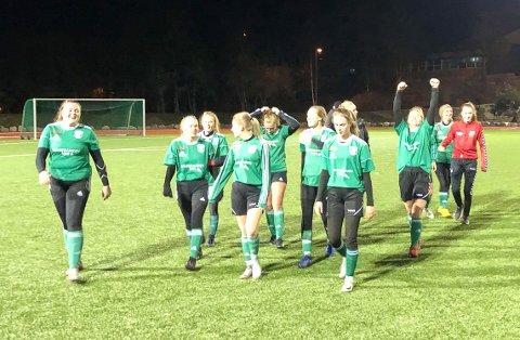 SEIRET: Sørfjell/Risør tok sesongens første seier med 5-1 over Gimletroll 3 onsdag.