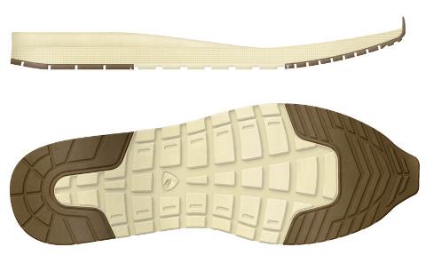 Slik ser solane på dei aktuelle skoa ut.