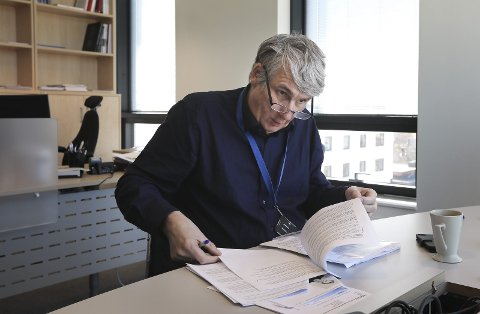 Må få bruken ned: Direktør ved Nordlandssykehuset Paul Martin Strand vil få antibiotikabrue ned. Foto: Tom Melby