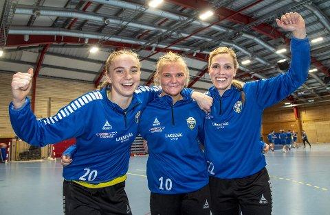 Henrikke Hauge Kjølholdt, Camilla Opsahl og Henriette Risti har vært sentrale for Fyllingen denne sesongen.
