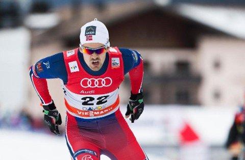 ANDREPLASS: Sondre Turvoll Fossli tok andreplassen under fredagens sprint i Prøve-OL.