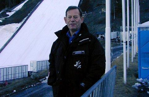 Torstein Haugerud gikk bort i helgen.