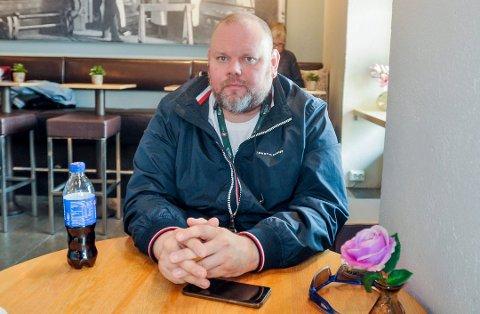 FØLGER SPENT MED: GodsetUnionen-leder Thor Arne Hanssen.