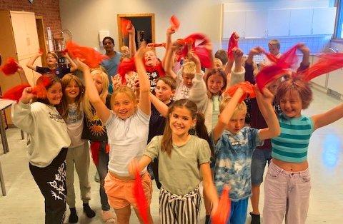 SPENT: Spente 6.-klassinger før konsertene med KORK 9. og 10 september