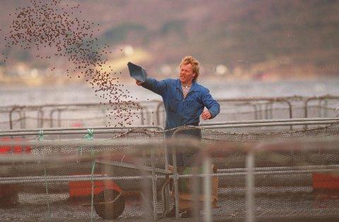 HAVBRUKSFONDET: Også i 2021 kjem det millionar frå Havbruksfondet inn på kontoen til laksekommunar som Kinn og Bremanger