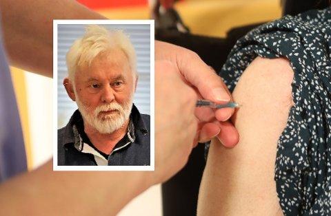 HAR EIN PLAN: Smittevernoverlege i Kinn kommune, Jan Helge Dale har lagt eit løp for gjennomføring av vaksinering av gruppe tre.