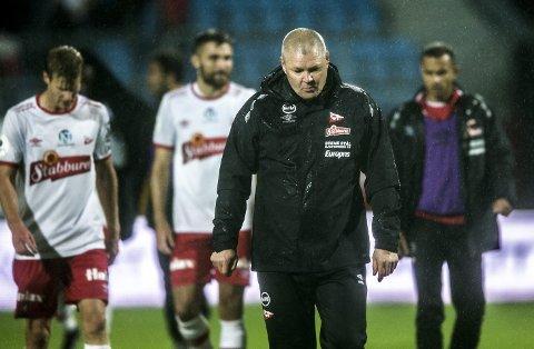 SKUFFET: Mons Ivar Mjelde var skuffet over måten FFK avsluttet sesongen på mot Bryne.