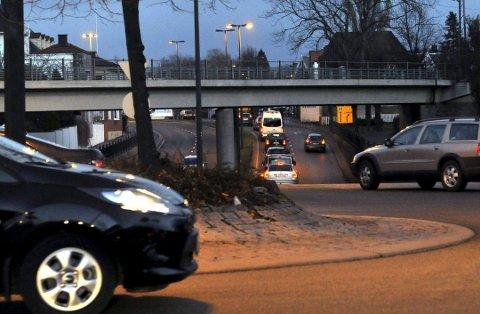 St.croix-krysset og Fredrikstad sentrum er verst når det gjelder luftkvalitet.