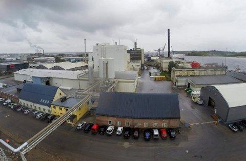 KJEMISK REAKSJON: En av reaktorene fikk materielle skader da den kjemiske reaksjonen i omdannelsen av ilmenitt «ble kraftigere enn forventet».