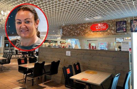 Veronica Lohaugen er lykkelig over at kundene igjen er å finne i Østfoldhallene.