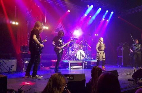 ROCK: The Troublemakers fra Tjeldsund, Skånland og Evenes vant rockemønstringen på «Rock Mot Frafløtting» i helgen. Alle foto: Frank Nordli