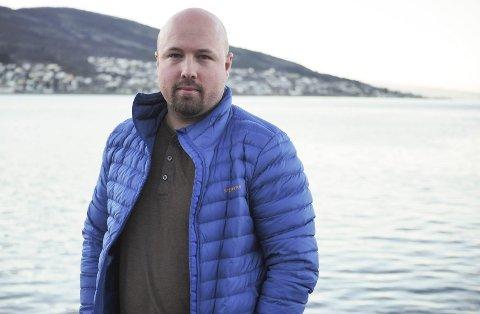 FOTOGRAF: Ole-Eivind Johansen er mannen bak motivet på Narvik-puslespillet. Arkivfoto: Lone Martinsen