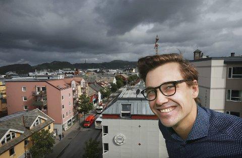 Kandidat: Øystein Sivertsen Sørvig er Nordland KrFs andrekandidat foran stortingsvalget i høst. Han er opprinnelig fra Bodø, men i dag bor han i Oslo – der han jobber som samfunnsøkonom. Foto: Tom Melby