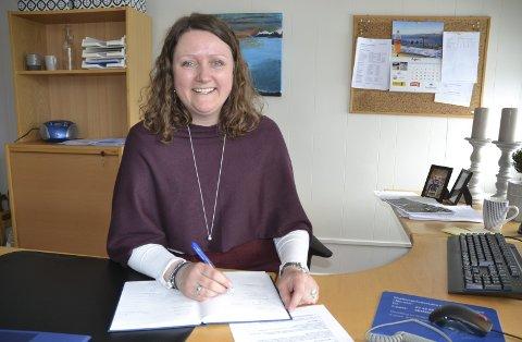 ENGASJERT: Sektorleder Hege Olsen Richardsen ser mye å glede seg over i helse- og omsorgssektoren i Gratangen i året som er gått. Foto: Harold Jenssen