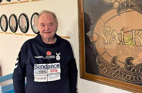 TILBAKE PÅ FALKHUSET: Morten Egge har en lang Falk-karriere bak seg. Nå er han tilbake i moderklubben som sportslige leder etter å ha vært en ressurs for Sandefjord-håndballen i en årrekke. Egge skal fortsatt bo i Sandefjord.