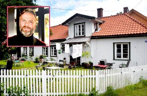 SERVERER: Kjetil Kristoffersen er mest kjent for alle sine foredrag og konserter med Publicom Scene. Nå skal han drive Rosehagen på Gamlehorten Gjestegård også.