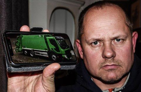 IKKE DÅRLIG: – Bilene var ikke i dårlig skikk da vi var ferdig med dem, sier Sigbjørn Aurland, som var avdelingsleder i selskapet som tidligere sto for innhenting av avfall til Solør Renovasjon.