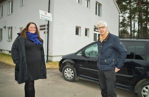 INFEKSJONSKLINIKKEN: Når ordførerne Kari Heggelund og Ola Cato Lie går sammen om å åpne Haslemoen, avlastes de kommunale legesentrene. De tar da hensyn til pasienter som frykter smitte når de søker legesenteret av andre årsaker.