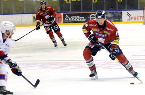 Juliuz Persson har 18 (7-11) målpoeng før kveldens møte med Manglerud Star .