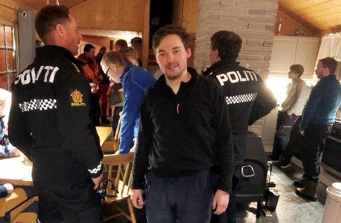 Jon Tingvold var i god behold da letemannskapene fra Røde Kors fant ham.