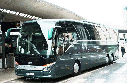 POPULÆR BUSS:  Dette er Vys nye nattbuss gjennom Gudbrandsdalen.