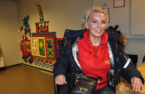 GLEDER SEG: Line Biagio Solvang gleder seg til å selge produktene sine på Granstunet.