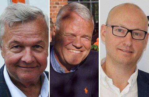 Tom Furulund, Johannes Sundet og Øyvind Rønningen.