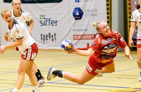 Mina Authen (22) fortsetter håndballkarrieren på 1. divisjonsnivå i Oslo.