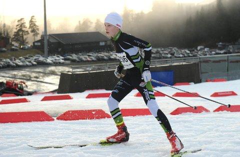 SATSER: Per Morten Finstad mister ikke motivasjonen selv om han kommer fra et snøfattig skidistrikt og mang konkurrenter er to og tre hoder høyere.