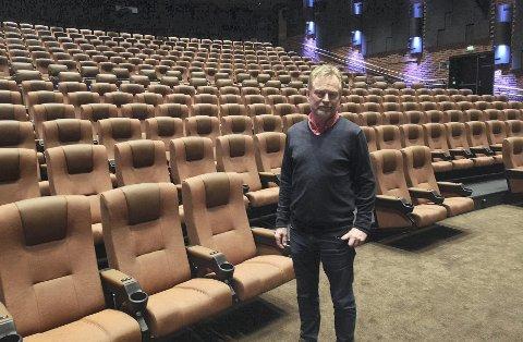 NYTT FORSØK: I fjor med filmfestivalen Hamarama avlyst bare noen få minutter før den skulle begynne og i år håper kinosjeg Espen Jørgensen på bedre hell. FOTO