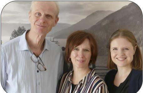 F.v: Gabriel Fliflet, Berit Opheim og Jorun Marie Kvernberg
