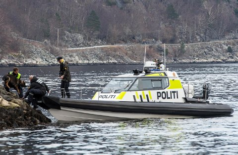 Politibåten «Kjølen» har en topphastighet på 102 knop, eller nærmere 190 km/t.