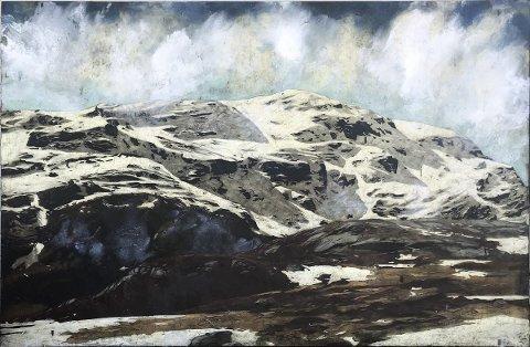LANDSKAP: Jan Terje Rafdal er en av to kunstnere som stiller ut i Haugesund Billedgalleri.