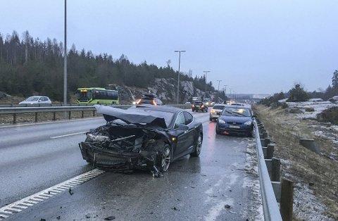 Illustrasjonsbilde trafikkulykke Foto: Tor Aage Hansen / NTB scanpix