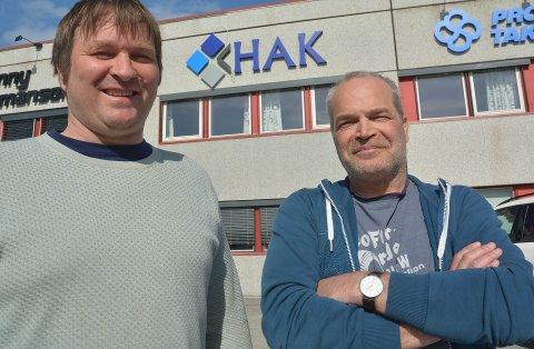 NYTT BRUPROSJEKT: Oee Heggeli eier HAK Entreprenør AS sammen Ole Johan Aas. De skal bygge bru både i Nordreisa og Stockholm neste år.