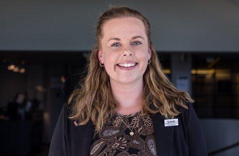 VADSØS NYE TILSKUDD: Elisabeth Emanuelsen er Vadsøs nye tilskudd blant befolkningen. 27-åringen er den nye direktøren ved Scandic Vadsø.