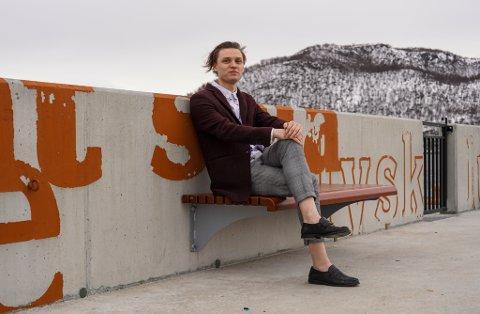 SLIPPER EP: På torsdag slipper Magnus Kvalsøy fra Harstad sin første EP.
