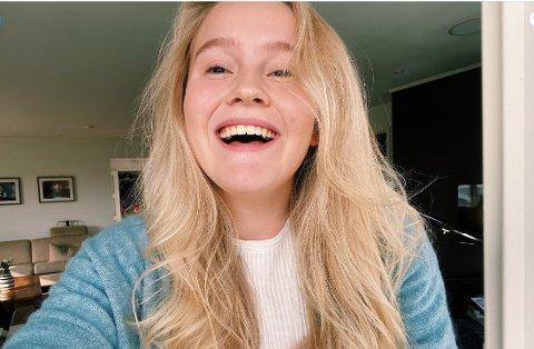 MYE GLEDE:  – Sang har fra tidlig alder vært noe som har gitt meg mye glede, fastslår Hanna Gravdal, nominert til Drømmestipendet.